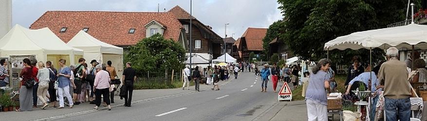 Gartenfest mit Cottage-Markt